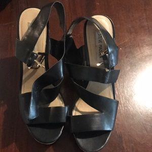 strappy Steve Madden wedges size 10